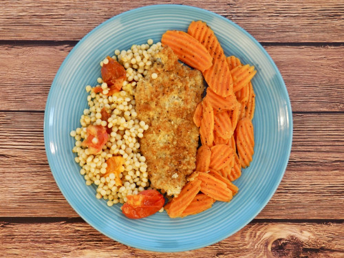 Crumb Coated Red Snapper